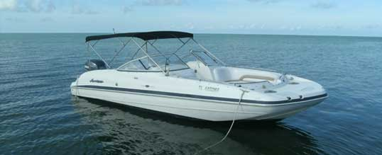fl keys fishing rental boats